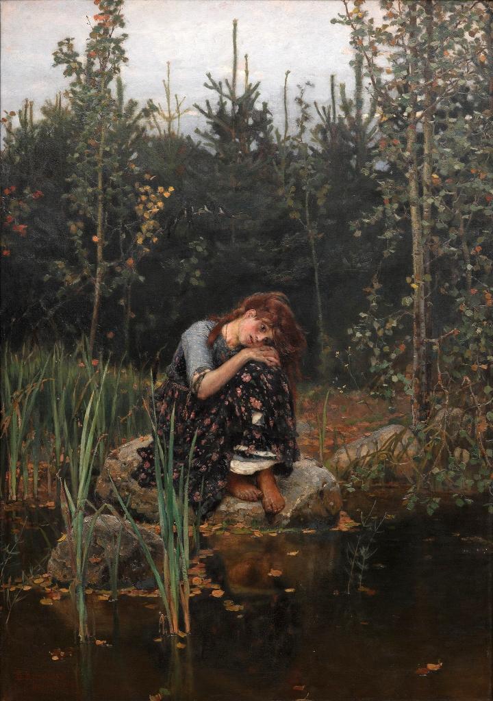 Alenushka, de Víktor Vasnetsov